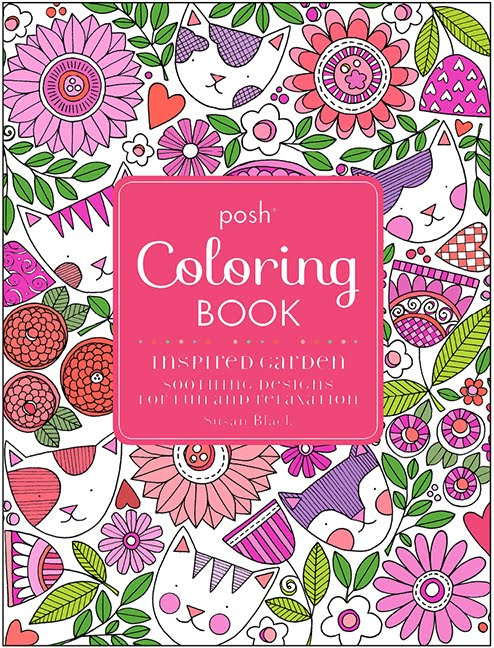 my 2nd colouring book