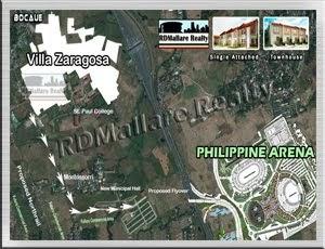 Villa Zaragosa near Philippine Arena