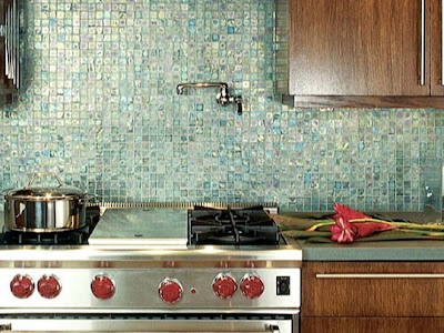 Install Glass Tile Backsplash on Kayla Lebaron Interiors  Glass Tile Backsplash