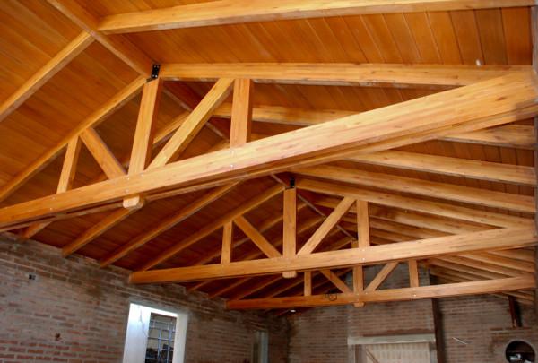Marzua techos de madera - Techos de maderas ...