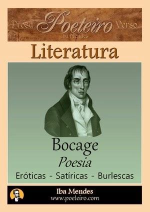 Poesias Eróticas, Satíricas e Burlescas  de Bocage - Iba Mendes