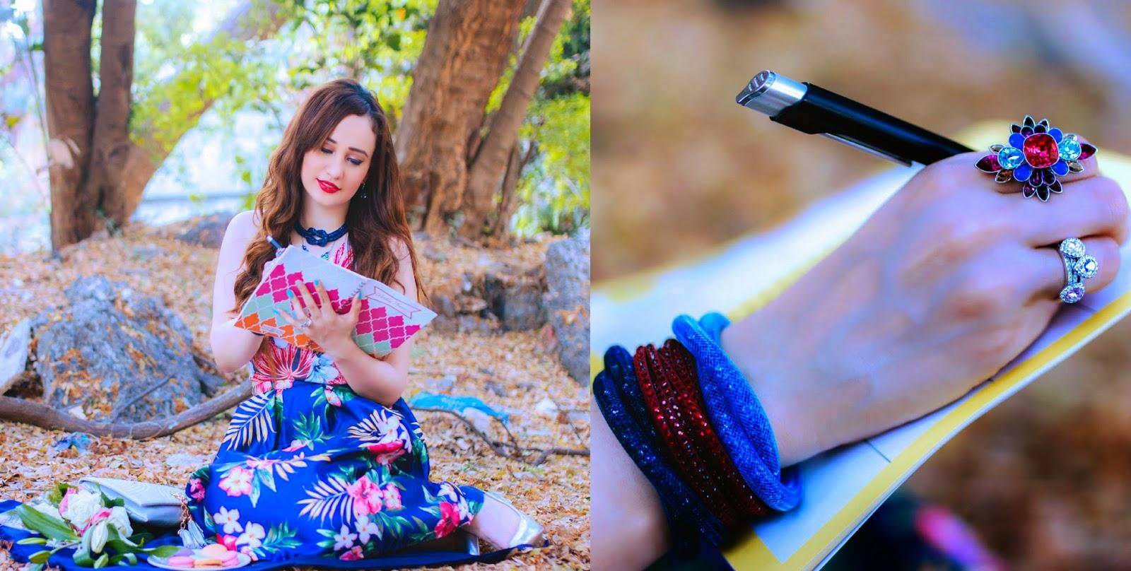Swarovski Stardust Bracelets, Slake Bracelet, Pastel Christie Ring Set