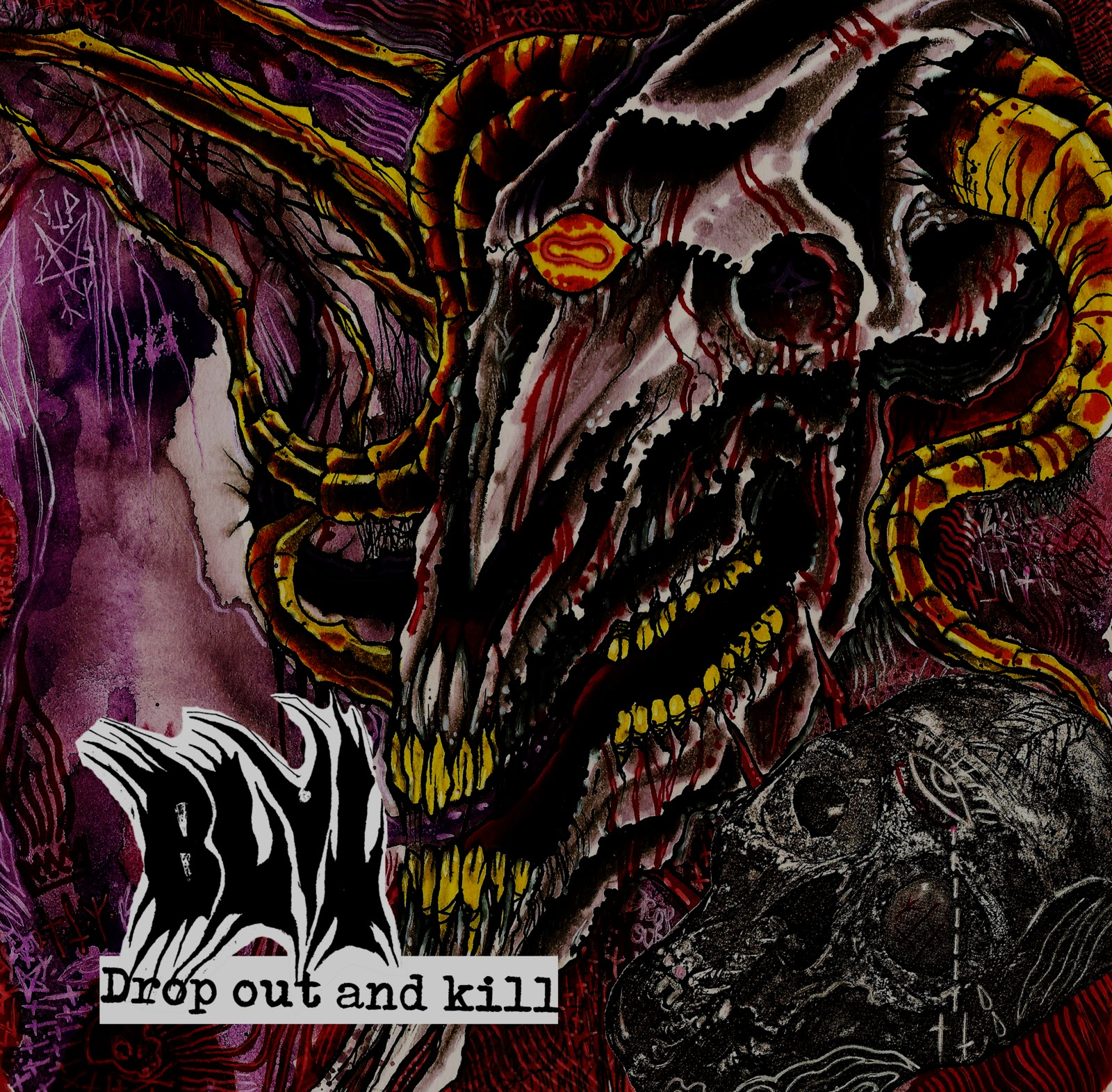 Blut - Drop Out and Kill cover