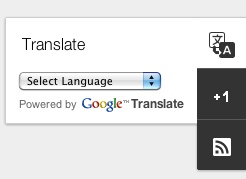 Google translate in dynamic views