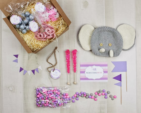 Chic Sweets' baby candy gift box