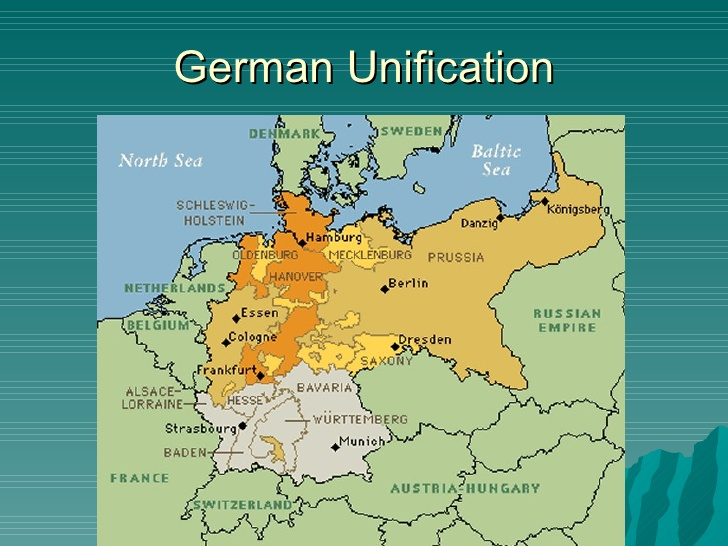an essay on germanys unification and bismarcks diplomacy An outline of an essay answering the question: in what ways and with what successes did bismarck use (a) diplomacy, (b) economic measures, and (c) war to achieve german unification.
