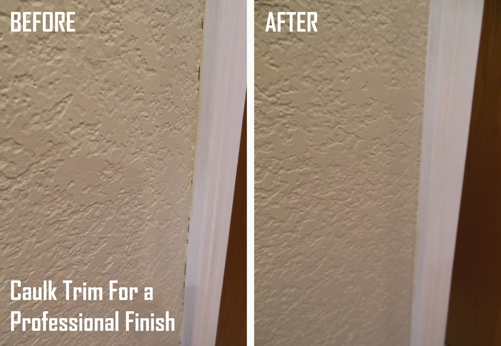 magenta and lime caulk trim for a professional finish. u003e & magenta and lime: caulk trim for a professional finish