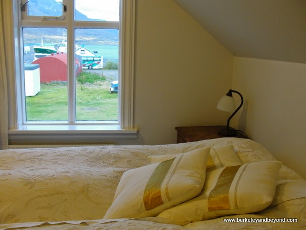 room at Hotel Aldan in Seydisfjordur in northeast Iceland