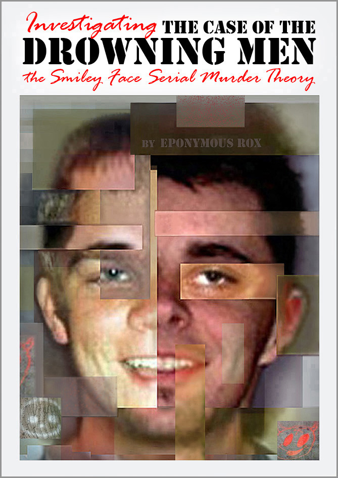 Full-color forensic analysis of the Smiley Face Serial Murders graphic print edition