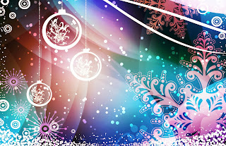 Tarjeta de Navidad Colores