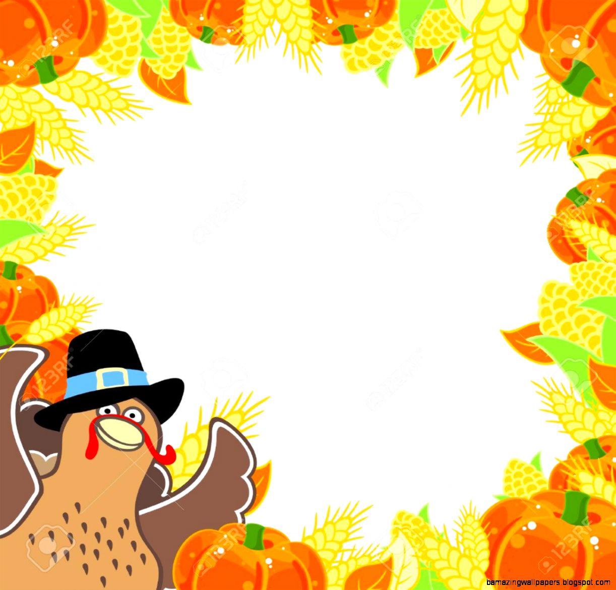 Best Thanksgiving Border 22996