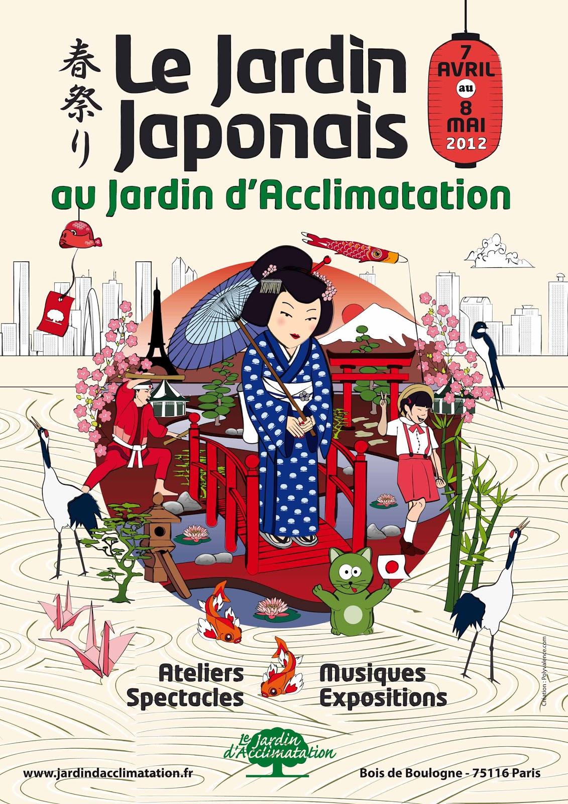 Ma vraie cuisine japonaise le jardin japonais paris du 7 avril au 8 mai - Ateliers jardin d acclimatation ...