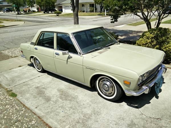 Daily Turismo: 5k: Bentecono Box: 1972 Datsun 510 4 Door