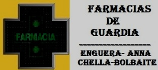 Farmacias de Guardia - AGOSTO