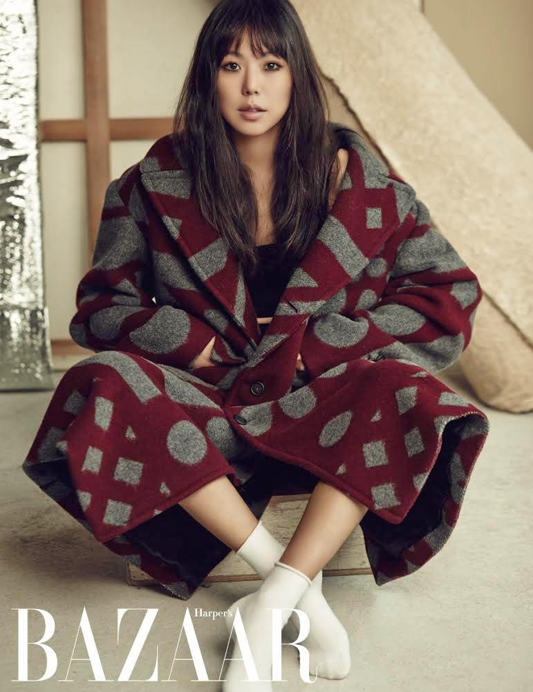 Kim Min Hee - Harper's Bazaar Magazine November Issue 2014