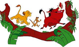 vetor de Timão e Pumba