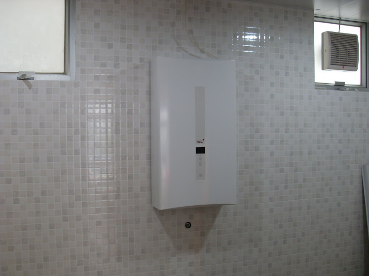 安裝煤氣公司TNJW120熱水爐