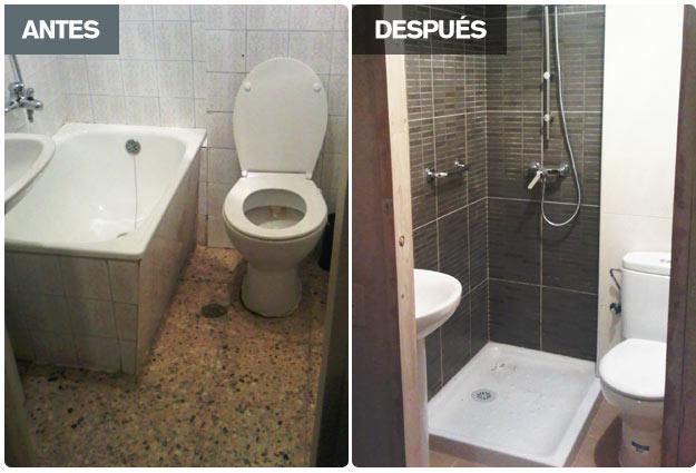 Coloco ducha sin obras - Duchas sin plato ...