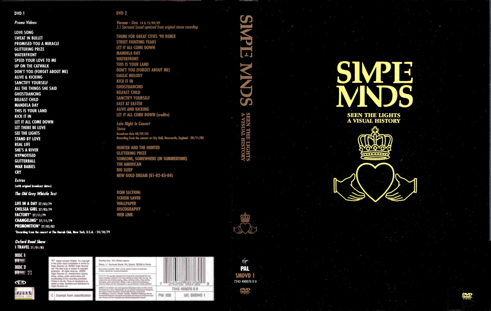 Cat logo dvd m sica simple minds seen the light a for 1980 floor show dvd