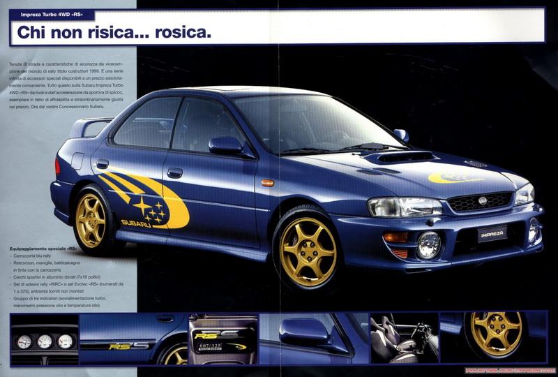 Subaru Impreza I, 1st, 1-gen, zdjęcia, japoński sportowy samochód, kultowy, 日本車, スポーツカー, スバル, RS Turbo Swiss