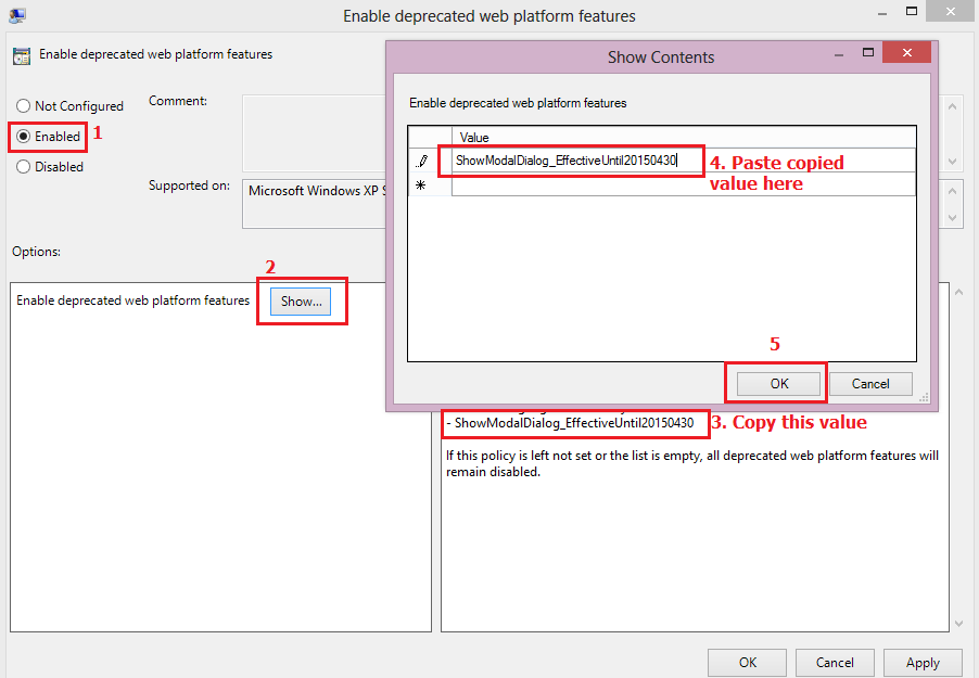 Sitecore Modal Pop Ups Are Not Working In Chrome