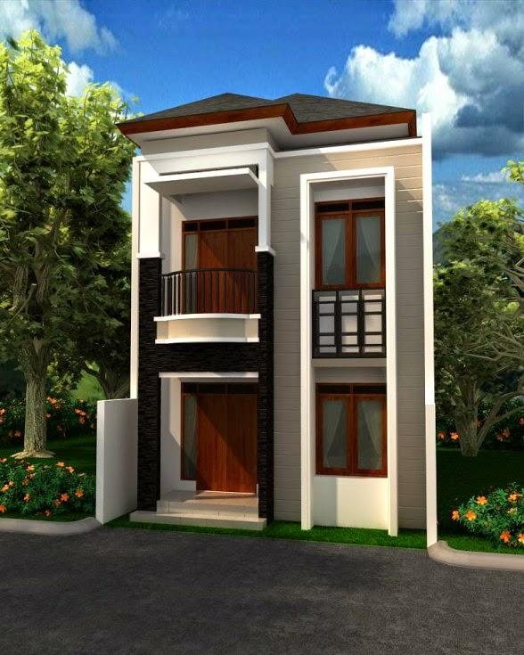 Desain Rumah Minimalis 2 Lantai Lebar 6 Meter