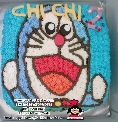 Kue Tart Doraemon Lucu Daerah Surabaya - Sidoarjo