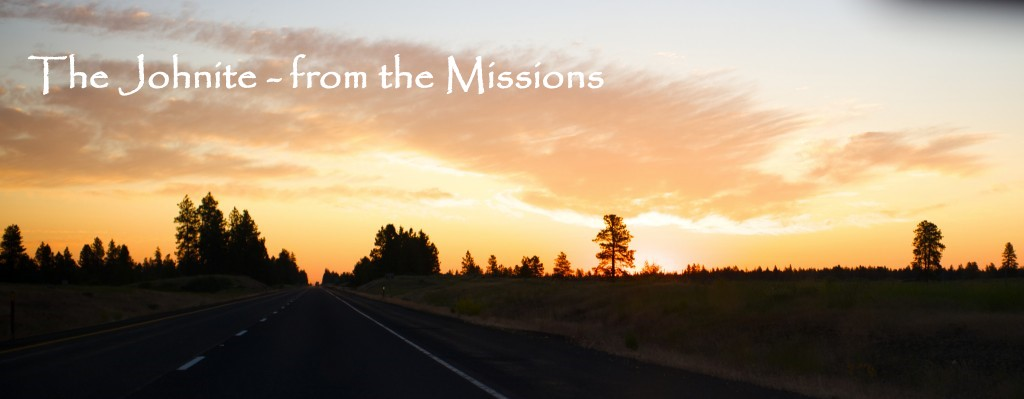 The Johnite- from the Missions