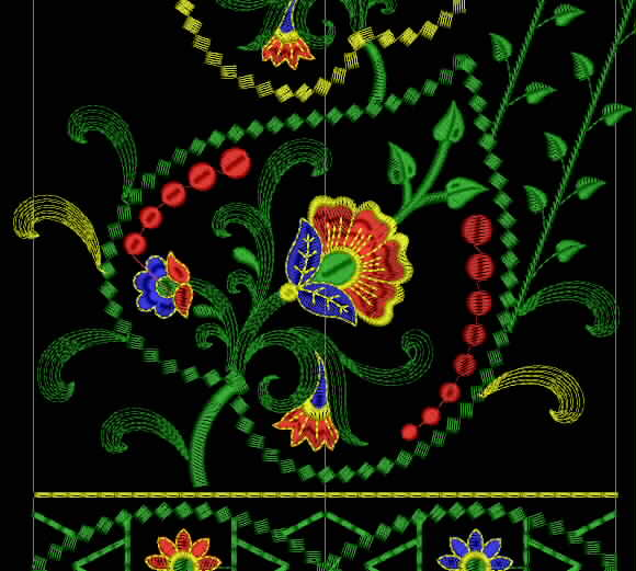 Free Embroidery Designs Download Free Embroidery Design For Saree 17