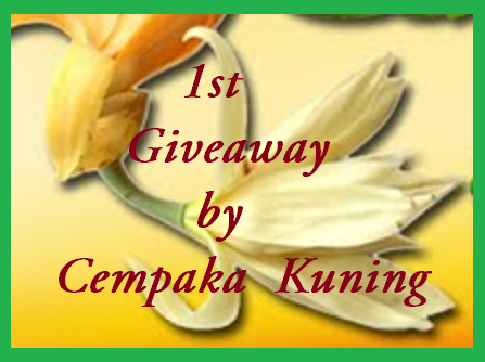"""1st Giveaway by Cempaka Kuning"""