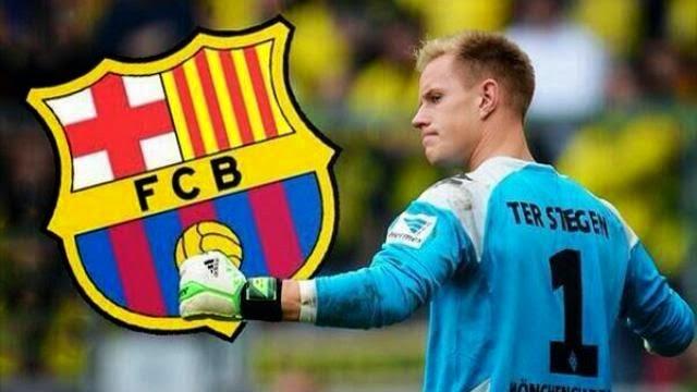 تير شتيجن يعلن تعاقده وانضمامه لبرشلونة