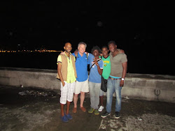 "The ""Wharf Rats"" and I along the Malecon, Havana, Cuba"