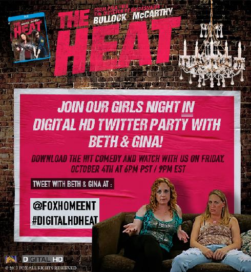 The Heat #DigitalHD