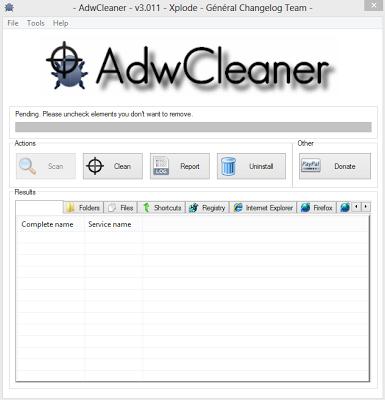 Cara Membersihkan Virus dengan Software Adw Cleaner Free