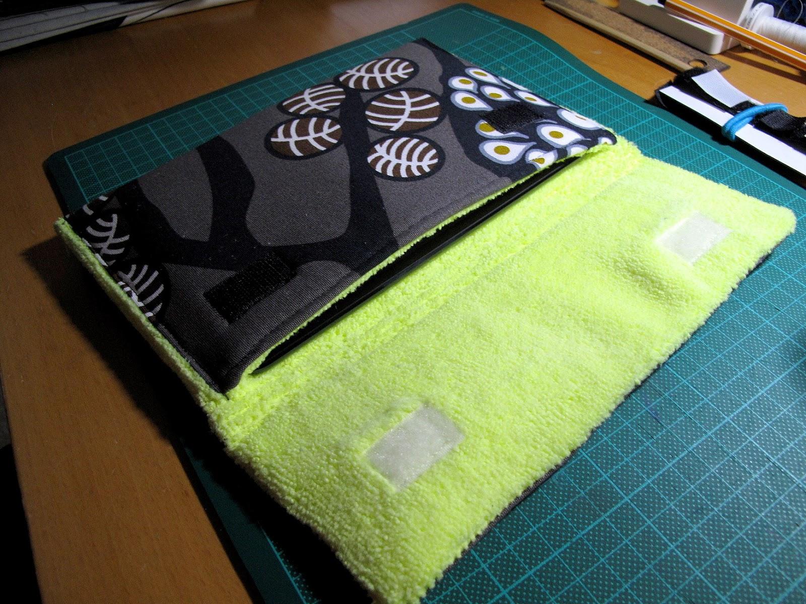 couture la maison sewing at home pochette pour ipad. Black Bedroom Furniture Sets. Home Design Ideas