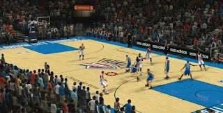Oklahoma City Thunder Court Update NBA 2K13 Patch