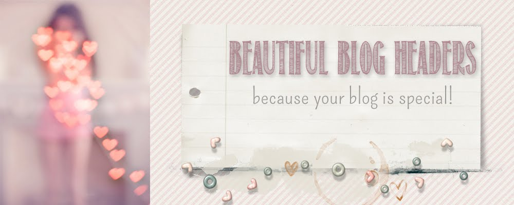 Beautiful Blog Headers