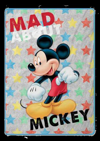 Mickey stars Gamanatura.  manta raschel