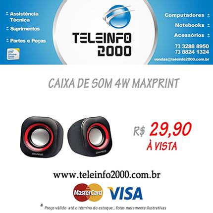 Promoção Teleinfo 2000 - Porto Seguro - Vitrine da Costa