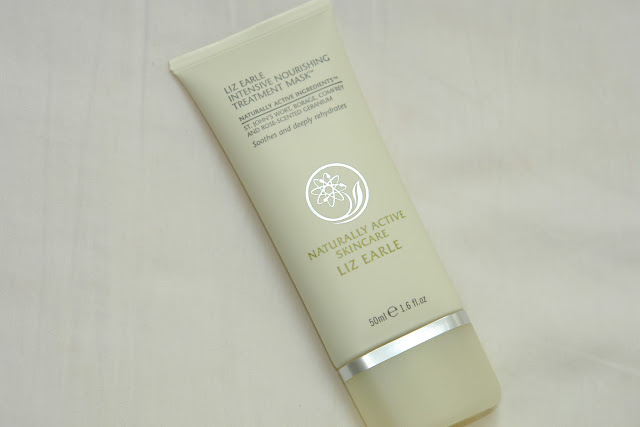 Liz Earle Intensive Nourishing Treatment Mask Liz Earle, beauty, face masks, review, blogger, UK blog,