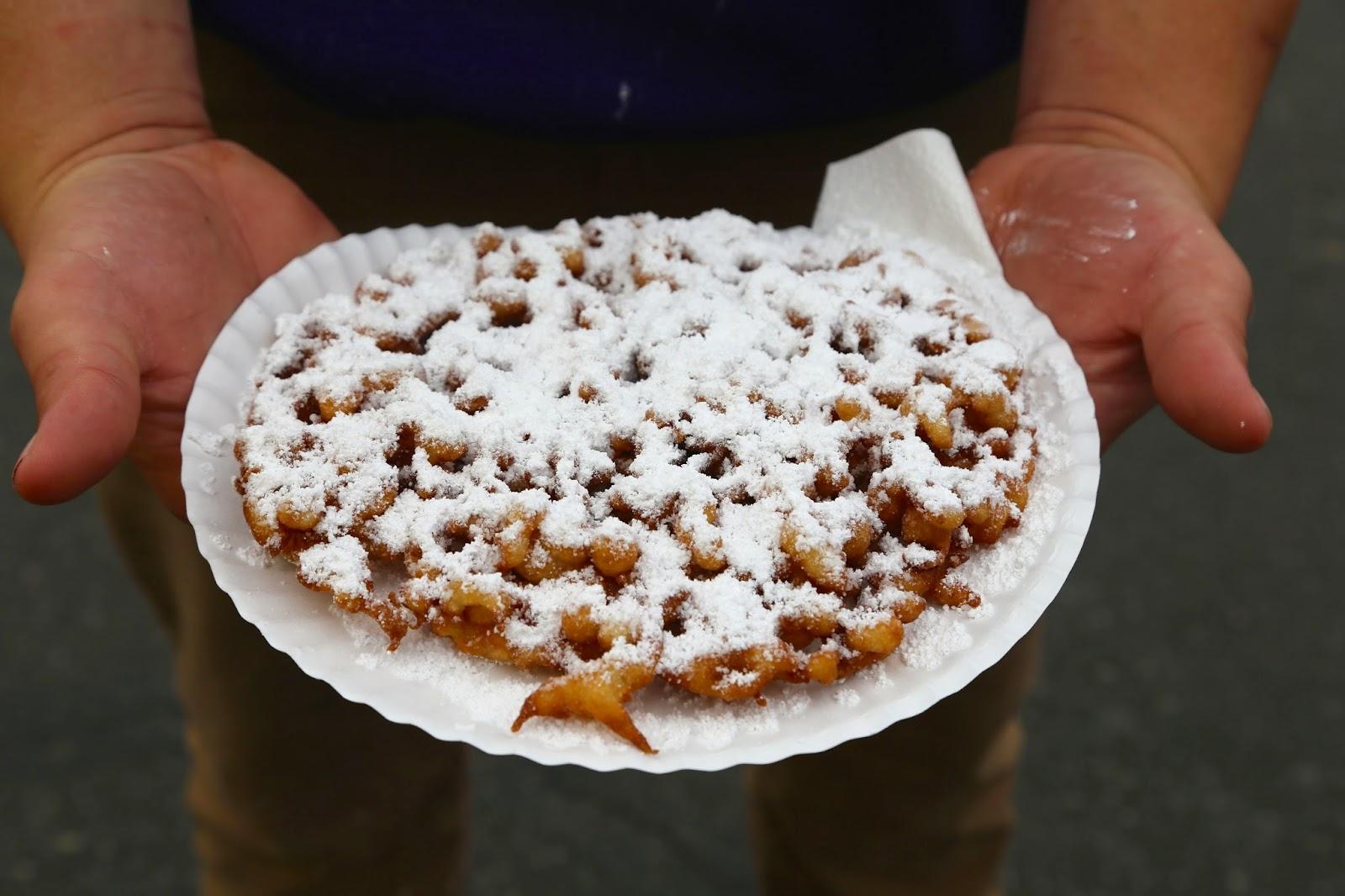 Funnel cake, Alaska State Fair