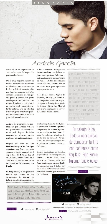 Andrés-García-artista-actua-pop-juvenil-presenta-La-Temperatura-feat- Mr-Black