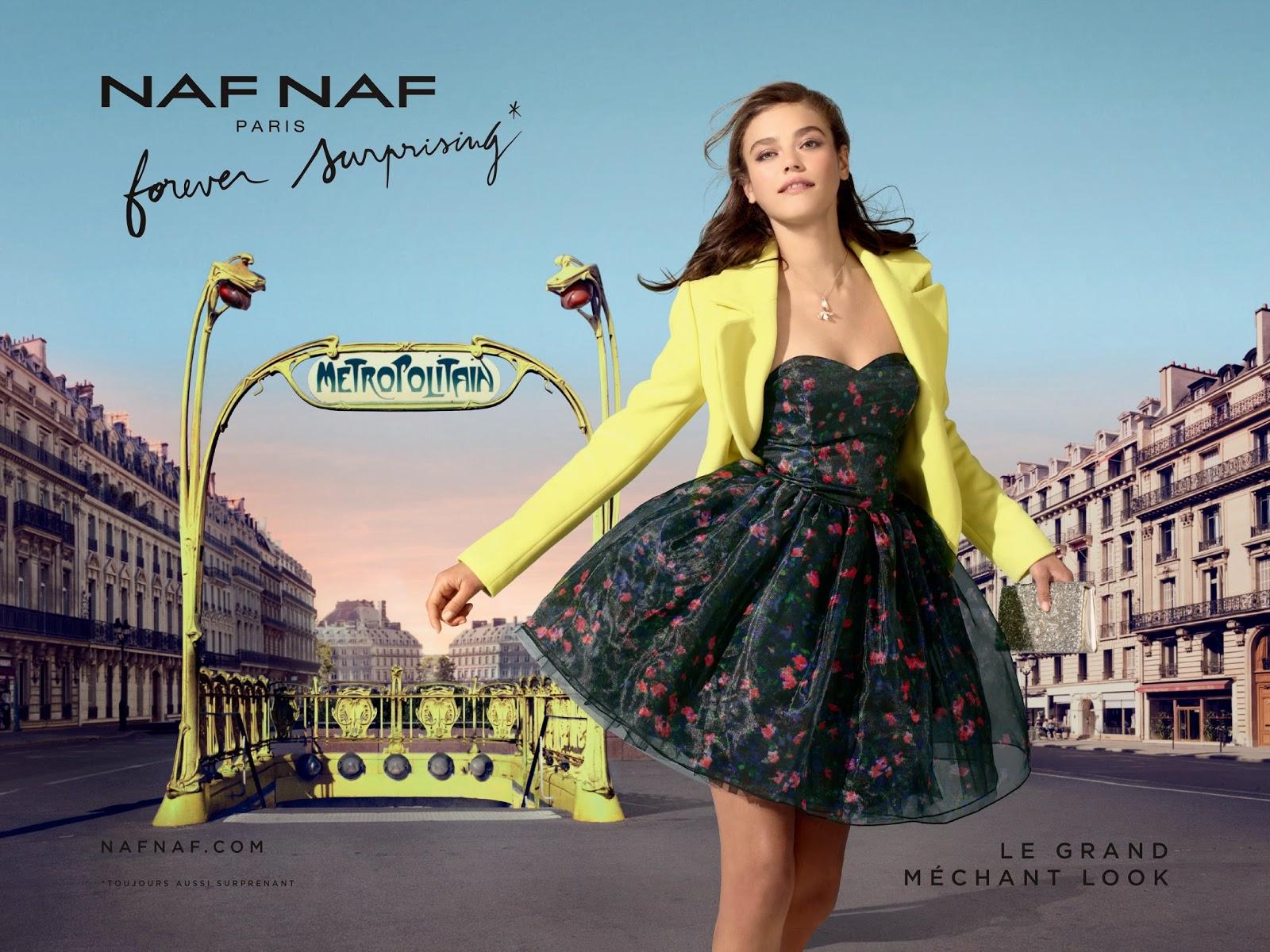 nouvelle campagne naf naf forever surprising