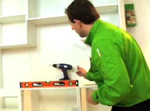 Como montar mueble cocina melamine 4 h galo usted mismo for Montar muebles de cocina