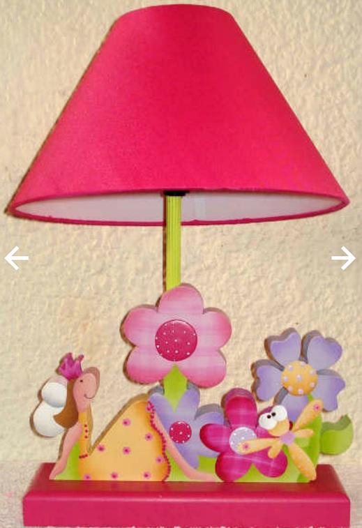 Mente creativa lamparas ni a en country - Lamparas pared infantiles ...