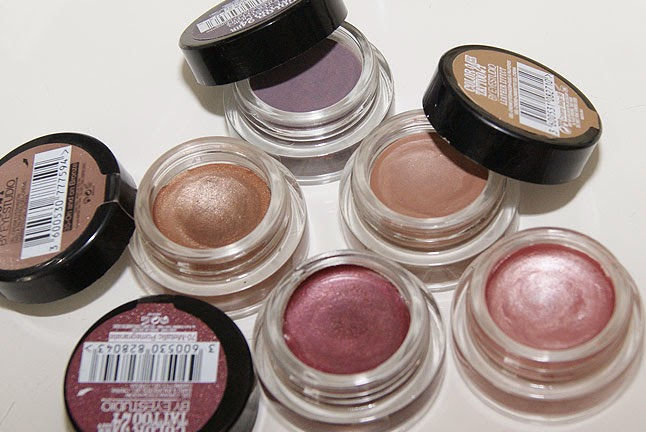 Maybelline Color Tattoo eye shadows review