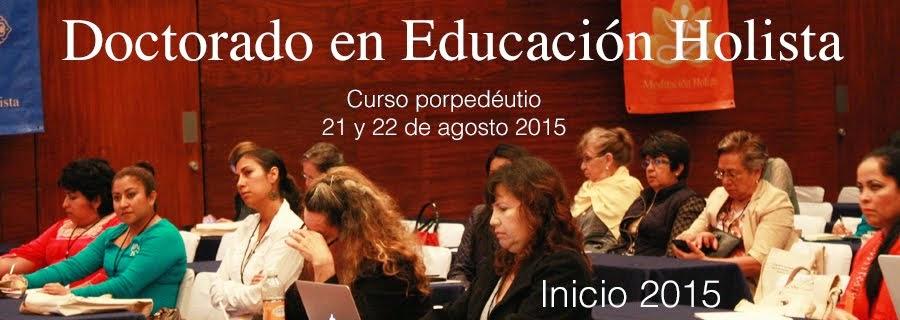 Doctorado en Educación Holista