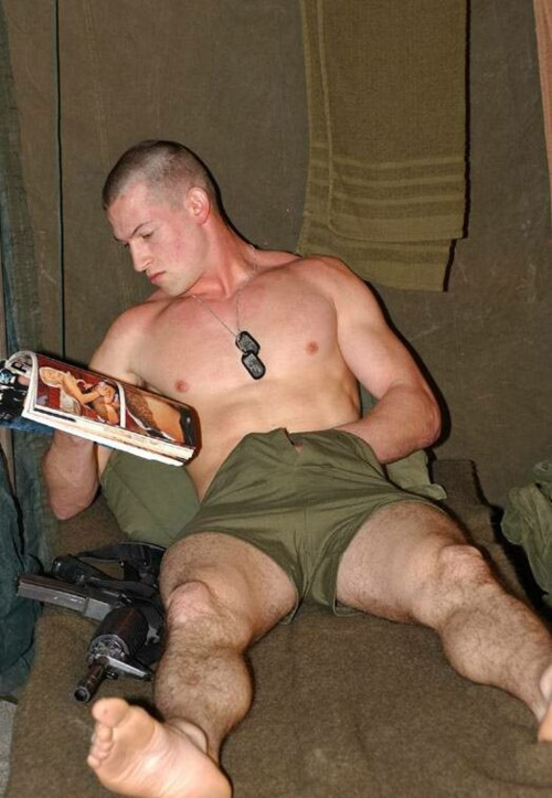 Military dick the dog