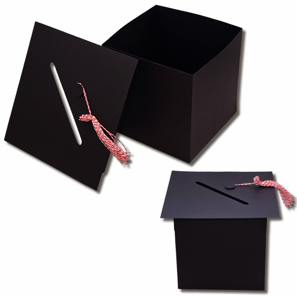 Bits of Paper Graduation Card Box and Graduation Gift Box with Inserts!