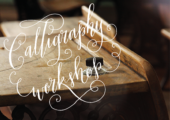 calligraphy workshop by Quill London
